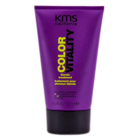 KMS California Color Vitality Blonde Treatment Restructuring And Toning 4.2oz, Other Hair Care & Styling, KMS  - MakeUpDealsDirect.com