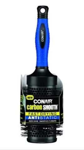 Conair Carbon Smooth Fast Drying Anti Static Brush, Brushes & Combs, Conair, makeupdealsdirect-com, [variant_title], [option1]