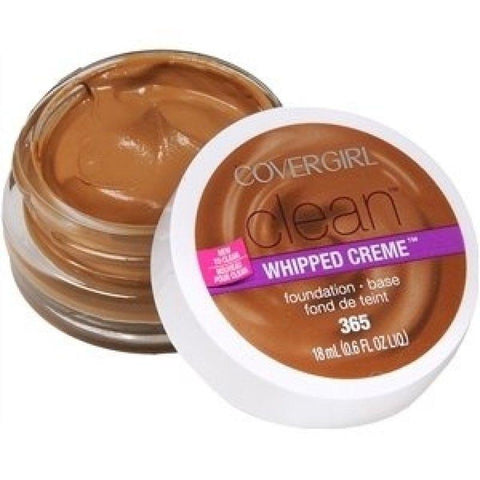 COVERGIRL CLEAN WHIPPED CRÈME FOUNDATION #365 TAWNY, Foundation, CoverGirl, makeupdealsdirect-com, [variant_title], [option1]