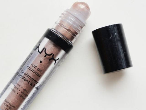 Nyx Roll on Shimmer Eye Shadow Face /body Shimmer (Choose Your Color), Eye Shadow, NYX, makeupdealsdirect-com, Almond RES11 hs2414, Almond RES11 hs2414