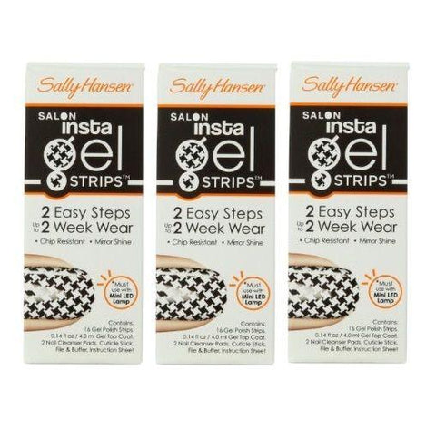 Lot Of 3 Sally Hansen Insta Gel Strips 16-strips-chip Resistant #440 Bonus Check, Manicure/Pedicure Tools & Kits, Sally Hansen, makeupdealsdirect-com, [variant_title], [option1]