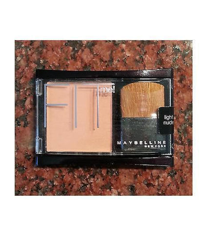 Maybelline FIT Me ! Pressed Powder Blush / Light Nude, Blush, Maybelline, makeupdealsdirect-com, [variant_title], [option1]