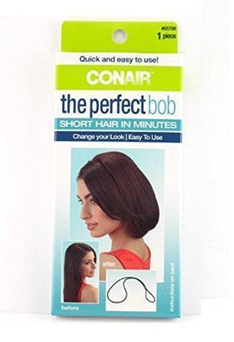 Conair The Perfect Bob 1Piece 55706V Short Hair In Minutes, Hair Ties & Styling Accs, Conair  - MakeUpDealsDirect.com