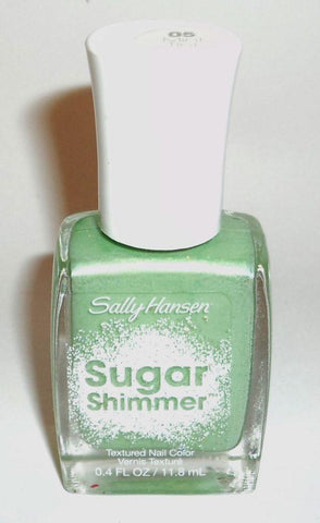 SALLY HANSEN #05 Mint Tint SUGAR SHIMMER TEXTURED NAIL POLISH, Nail Polish, Sally Hansen, makeupdealsdirect-com, [variant_title], [option1]