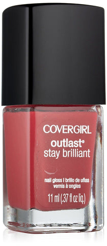 Covergirl Outlast Stay Brilliant Nail Gloss 265 Lingering Spice., Nail Polish, CoverGirl  - MakeUpDealsDirect.com