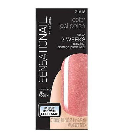 Lot Of 2 - Sensationail Color Gel Polish #71618--mi Amor-- 0.25 Fl Oz, Nail Polish, SensatioNail, makeupdealsdirect-com, [variant_title], [option1]