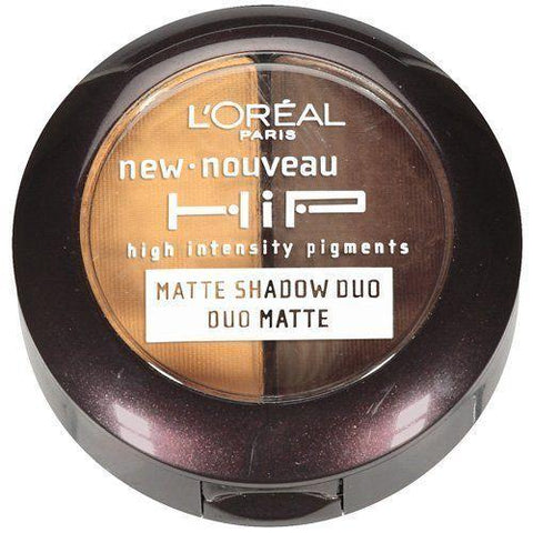 L'Oreal HiP MATTE SHADOW DUO 907 Striking, Eye Shadow, l'oreal, makeupdealsdirect-com, [variant_title], [option1]
