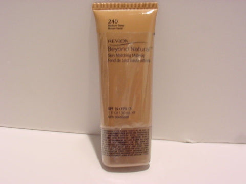 Revlon BEYOND NATURAL 240 MEDIUM-DEEP SKIN MATCHING MAKEUP IN SHADE, Foundation, Revlon, makeupdealsdirect-com, [variant_title], [option1]