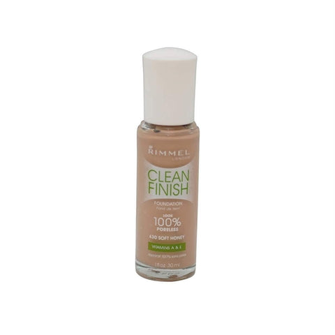 Rimmel London Soft Honey Clean Finish Foundation, Foundation, Rimmel, makeupdealsdirect-com, [variant_title], [option1]