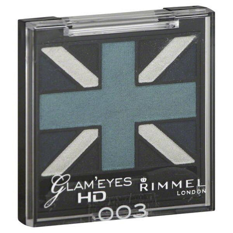 RIMMEL London Glam 'EYES HD Quad Eyeshadow #003 ROYAL BLUE', Eye Shadow, Rimmel, makeupdealsdirect-com, [variant_title], [option1]