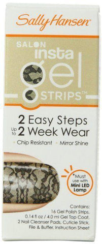 SALLY HANSEN INSTA GEL STRIPS #410 AMAZING LACE, Gel Nails, Sally Hansen  - MakeUpDealsDirect.com