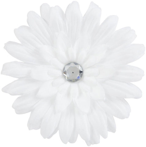 Gimme Clips White Flower Hair Clip, Other Makeup, Gimme Clips, makeupdealsdirect-com, [variant_title], [option1]