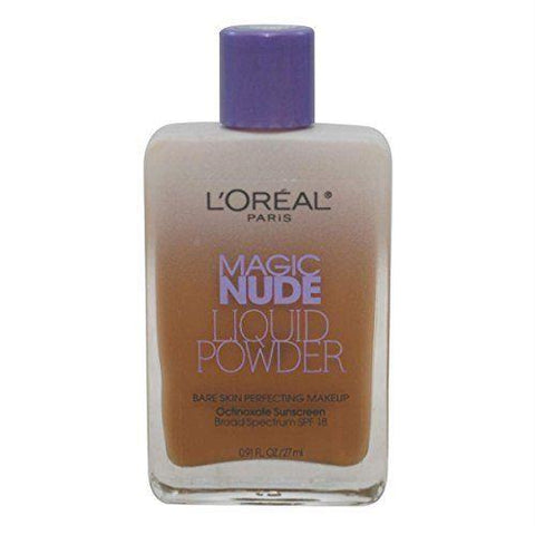 "L'OREAL Magic Nude Liquid Powder Bare Skin PerfectingSPF18-330 Classic Tan, Face Powder, L""OREAL, makeupdealsdirect-com, [variant_title], [option1]"