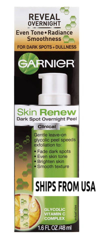 Garnier Skin Renew Dark Spot Overnight Peel 1.6 Oz, Anti-Aging Products, Garnier  - MakeUpDealsDirect.com