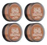 Maybelline New York Color Tattoo Eye Shadow, 60 Buff And Tuff, Eye Shadow, Maybelline, makeupdealsdirect-com, Pack of 4, Pack of 4
