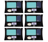 Maybelline Expert Wear Eye Shadow, 45D Shocking Seas CHOOSE YOUR PACK, Eye Shadow, Maybelline, makeupdealsdirect-com, Pack of 6, Pack of 6