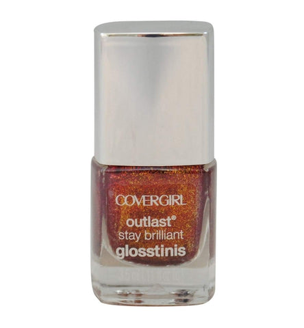 Covergirl Outlast Stay Brilliant Glosstinis, 615 Inferno Choose Your Pack, Nail Polish, Covergirl, makeupdealsdirect-com, Pack of 1, Pack of 1