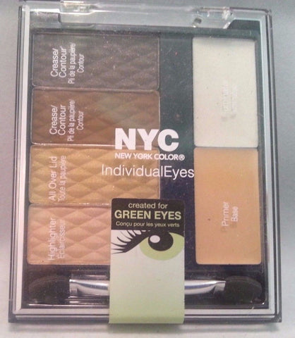 NYC Individualeyes Eye Shadow Palette YOU CHOOSE, Eye Shadow, Nyc, makeupdealsdirect-com, 940 Central Park, 940 Central Park