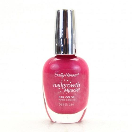 Sally Hansen Nail Growth Miracle Polish, 230 Pretty Petunia Choose You