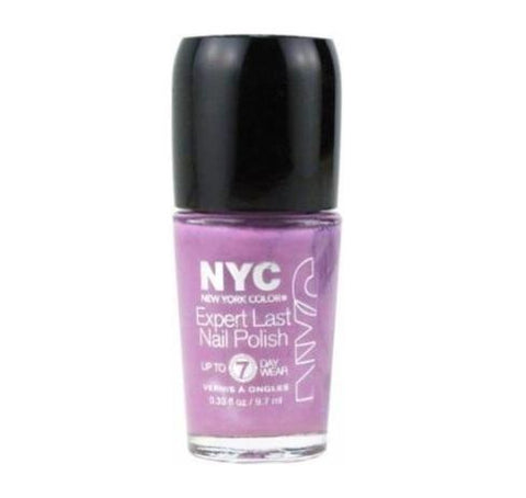 Nyc Expert Last Nail Polish, 255 Late Night Lilac Choose Your Pack, Nail Polish, Nyc, makeupdealsdirect-com, Pack of 1, Pack of 1