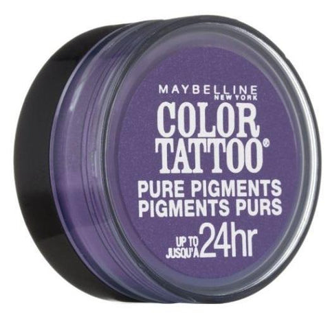 Maybelline Color Tattoo Eye Shadow, 15 Potent Purple Choose Your Pack, Eye Shadow, Maybelline, makeupdealsdirect-com, Pack of 1, Pack of 1