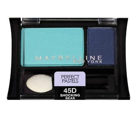 Maybelline Expert Wear Eye Shadow, 45D Shocking Seas CHOOSE YOUR PACK, Eye Shadow, Maybelline, makeupdealsdirect-com, Pack of 1, Pack of 1