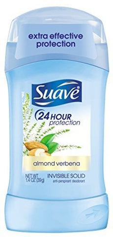 Suave 24Hour Protection Invisible Solid Antiperspirant Deodorant, Deodorants & Antiperspirants, reddonut, makeupdealsdirect-com, Almond Verbena, Almond Verbena
