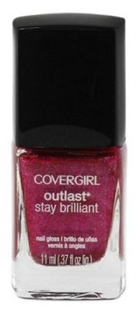 Covergirl Outlast Stay Brilliant Nail Polish, 313 Bombshell Pink Choose Ur Pack, Nail Polish, Covergirl, makeupdealsdirect-com, Pack of 1, Pack of 1