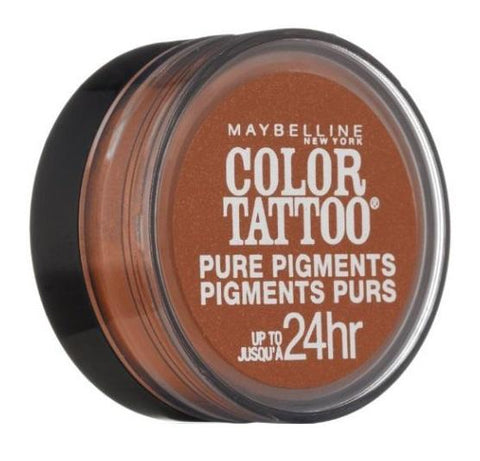 Maybelline Color Tattoo Eye Shadow, 35 Breaking Bronze Choose Your Pack, Eye Shadow, Maybelline, makeupdealsdirect-com, Pack of 1, Pack of 1