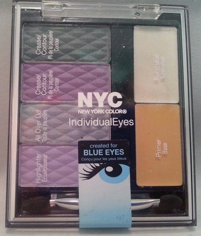 NYC Individualeyes Eye Shadow Palette YOU CHOOSE, Eye Shadow, Nyc, makeupdealsdirect-com, 939 Bryant Park, 939 Bryant Park
