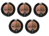 Maybelline Color Studio Eye Molten Eye Shadow, 300 Nude Rush Choose Your Pack, Eye Shadow, Maybelline, makeupdealsdirect-com, Pack of 5, Pack of 5