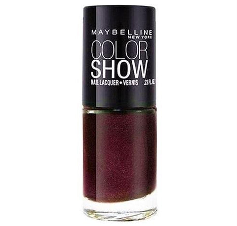 Maybelline Colorshow Nail Polish, 420 Wined & Dined Choose Your Pack, Nail Polish, Maybelline, makeupdealsdirect-com, Pack of 1, Pack of 1