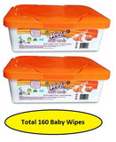 (Better than Cottonelle ) Veela Baby Wipes - Alcohol Free - Choose your Pack