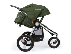 Bumbleride Speed Jogging Stroller Camp Green Profile View Canada