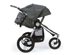 Bumbleride Speed Jogging Stroller Dawn Grey Mint Profile View Canada