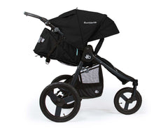 Bumbleride Speed Jogging Stroller Matte Black Profile View Canada