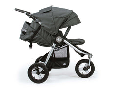 Bumbleride Indie All Terrain Stroller Dawn Grey Mint Rear View Canada