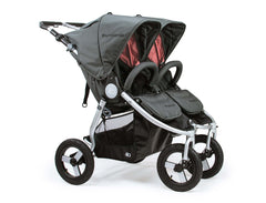 2018 Bumbleride Indie Twin Double Stroller - Dawn Grey Coral Canada