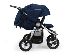 Bumbleride Indie Twin Double Stroller Maritime Blue Profile View Canada