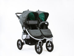 Bumbleride Snack Pack 2018 - Dawn Grey on Indie Twin Double Stroller - Global Canada