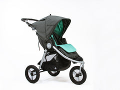 Bumbleride Reversible Seat Liner Dawn Grey Mint On Stroller Global Indie Canada