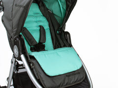 Bumbleride Reversible Seat Liner Dawn Grey Mint On Stroller Global Canada