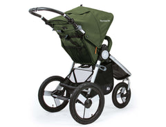 Bumbleride Speed Jogging Stroller Camp Green Rear View Canada