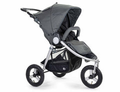 2020 Bumbleride Indie All Terrain Stroller in Dawn Grey - Front