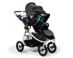 Single Clek Liing on Bumbleride Indie Twin Double Stroller No Fabric (Optional) - Single Adapter