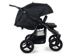 2020 Bumbleride Indie Twin Double Stroller in Matte Black - Profile