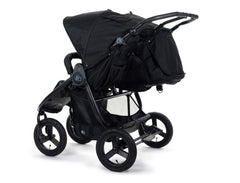 2020 Bumbleride Indie Twin Double Stroller in Matte Black - Back
