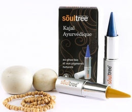 kajal, khol, soultree, maquillage, cosmetique, ayurvedique, bio, vegan, naturel, yeux, crayon, ecologique