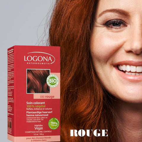 Soin Colorant Rouge - LOGONA