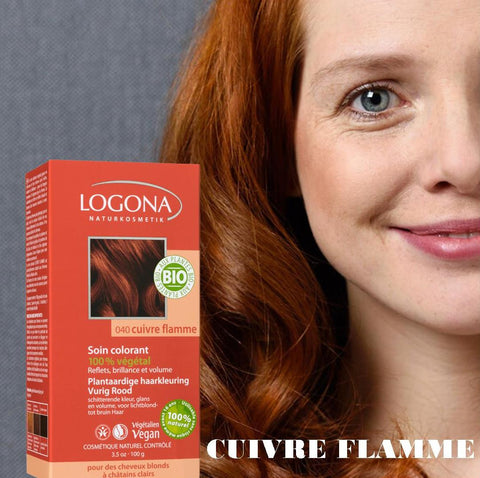 Soin Colorant Cuivre Flamme - LOGONA